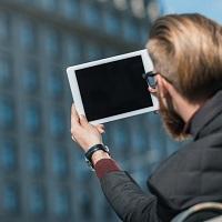 В личный кабинет налогоплательщика можно войти через мобильное приложение без использования логина и пароля